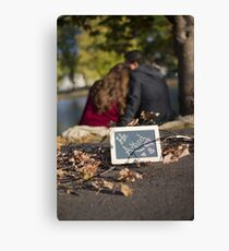 He Asked Canvas Print