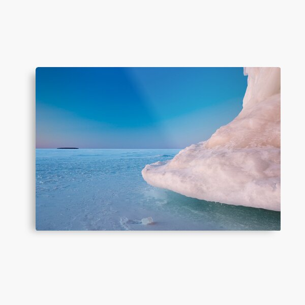 Out of the Blue, Apostle Islands, WI Metal Print