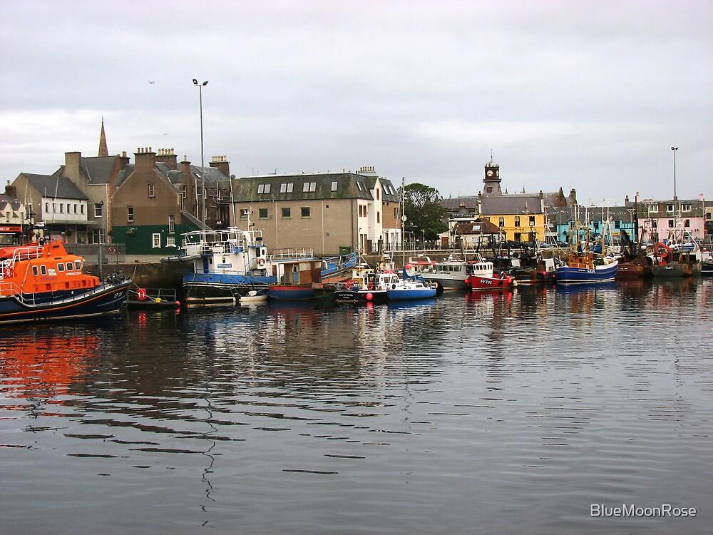 The Marina, Stornoway, Isle of Lewis by BlueMoonRose