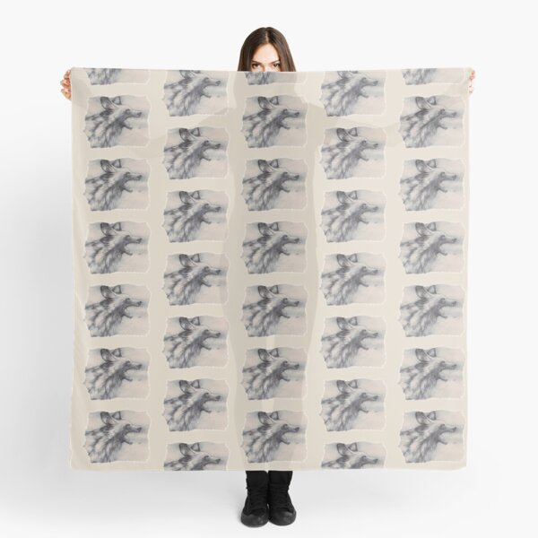 African Painted Dog Scarf