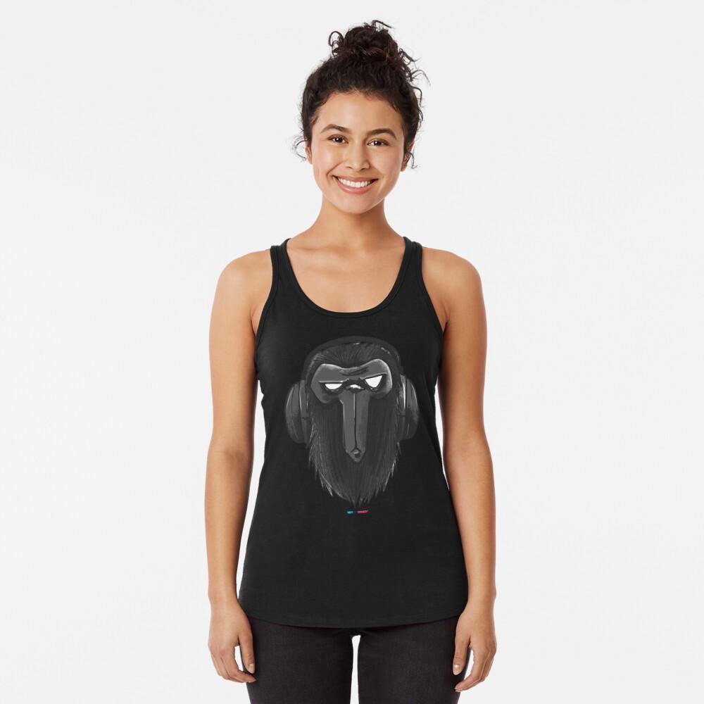 SuperMonkey by Fran Ferriz Camiseta con espalda nadadora