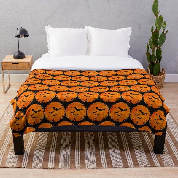 Spooky Halloween Bats Cheeky Witch® Throw Blanket