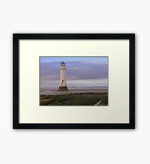 Perch rock Lighthouse Framed Print