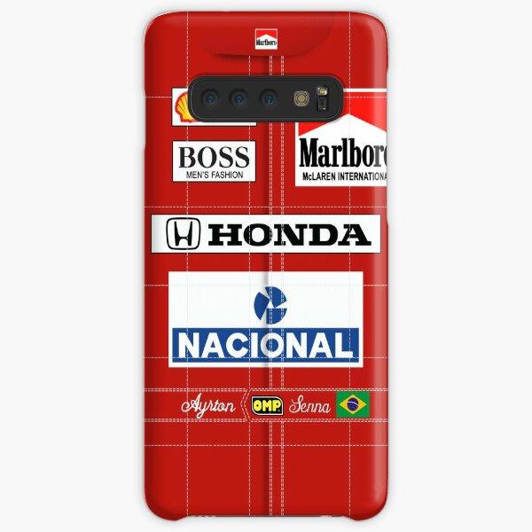 Senna - Race suit Samsung Galaxy Snap Case