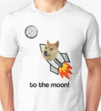 Doge To The Moon! Unisex T-Shirt