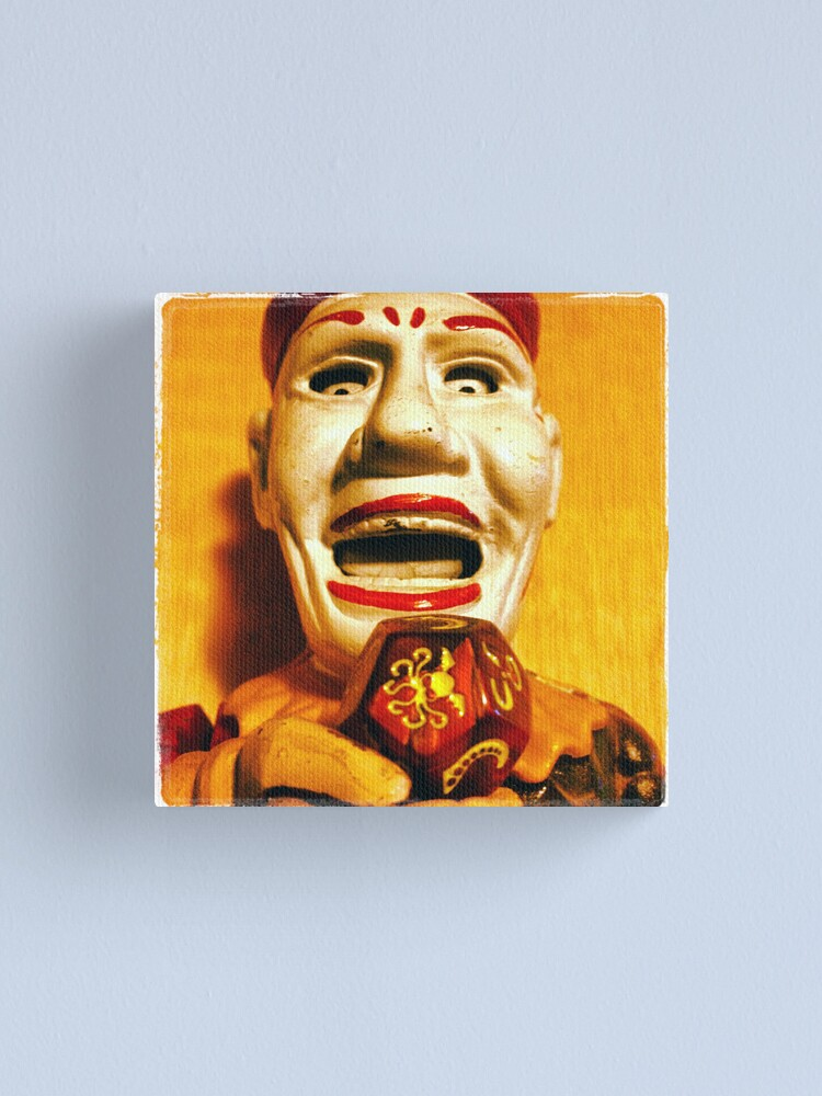 Alternate view of The Klown in Yellow Canvas Print