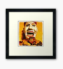 The Klown in Yellow Framed Print