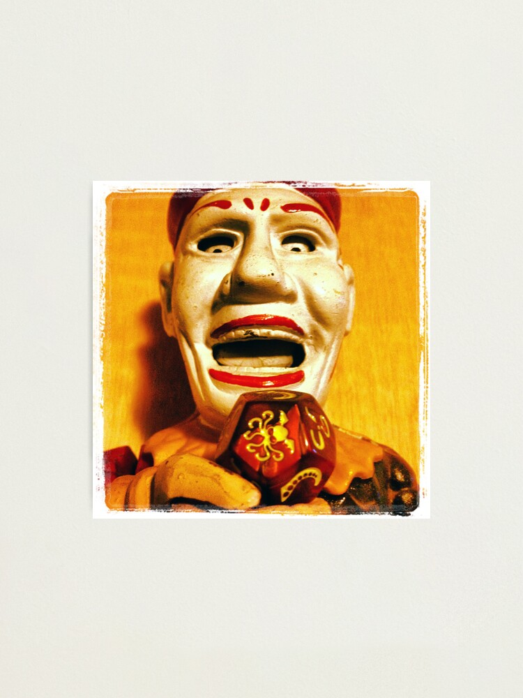 Alternate view of The Klown in Yellow Photographic Print