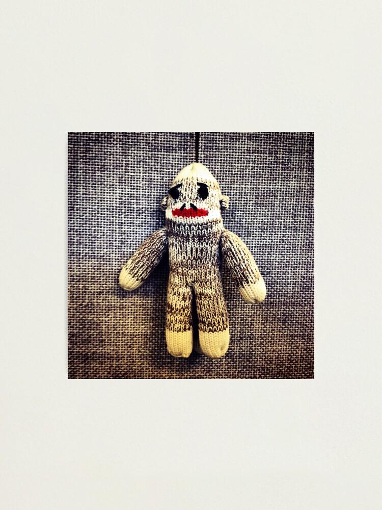Alternate view of Sock Monkey Photographic Print