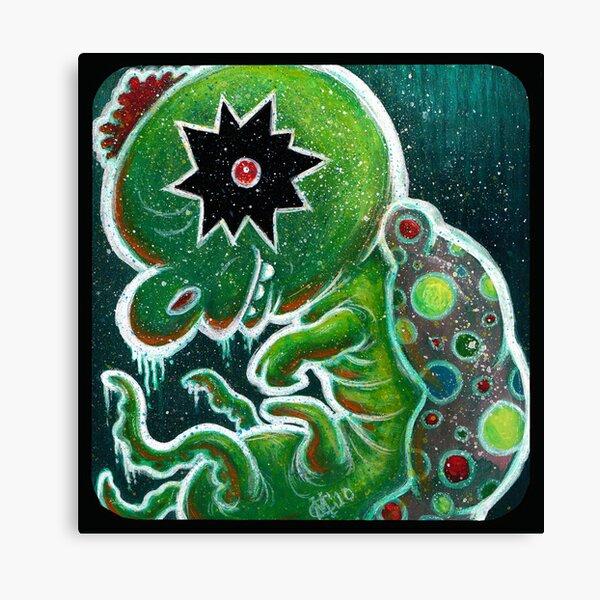 GloWyrm Canvas Print