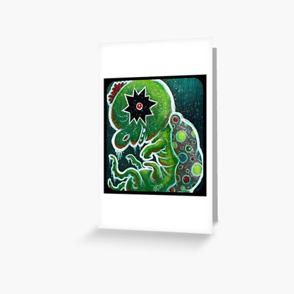 GloWyrm Greeting Card