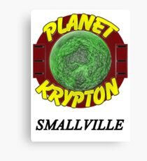 Planet Krypton - Smallville Canvas Print