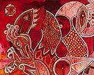 Crimson Dragon by Lynnette Shelley