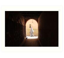 Laneways of Marrakech Art Print