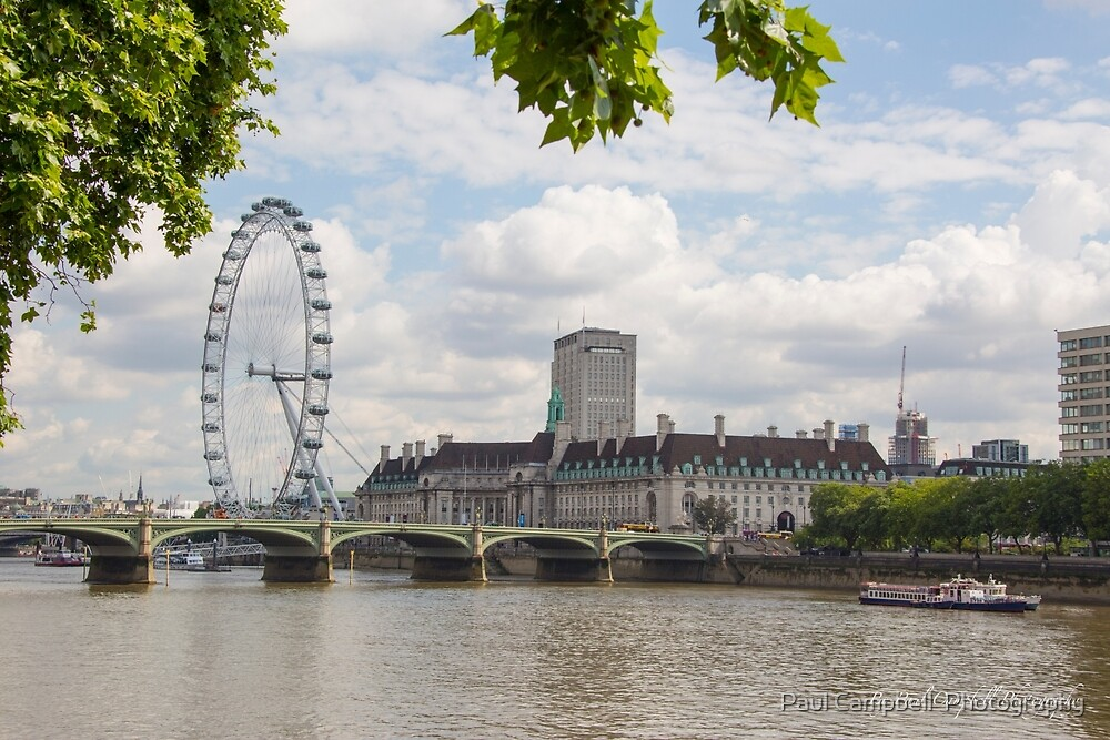 The London Eye by Paul Campbell  Photography