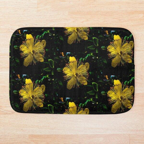 The Yellow Flower Bath Mat