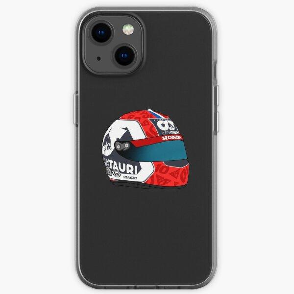 Casque Pierre Gasly 2020 F1 Coque souple iPhone