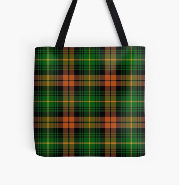 Martin Ancient Tartan | Clan Martin | Cute Tartan All Over Print Tote Bag