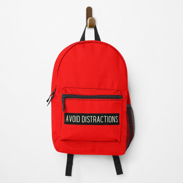 Avoid Distractions Backpack
