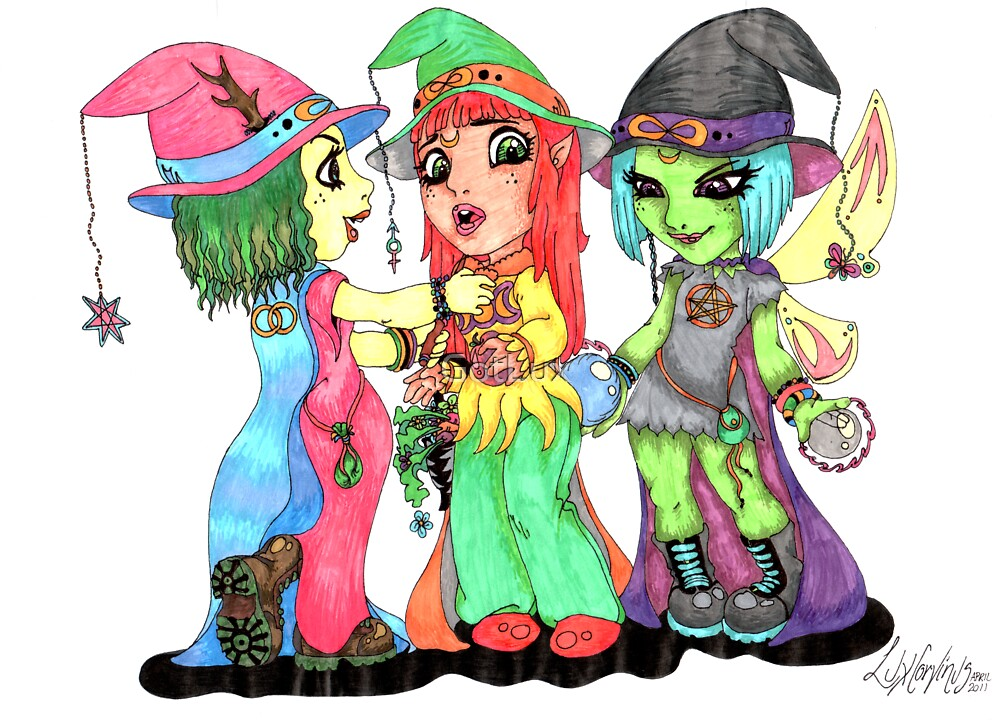 Little Witches by GotLux