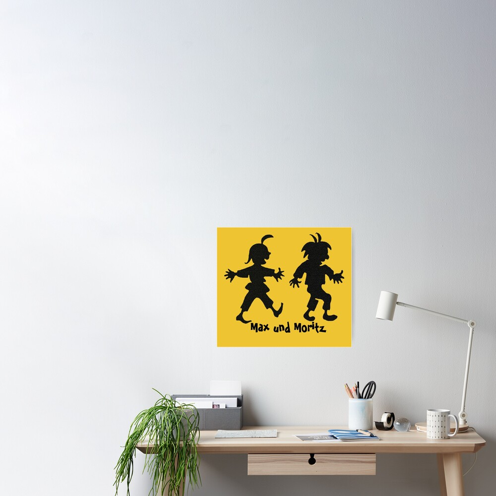 Max and Moritz Poster