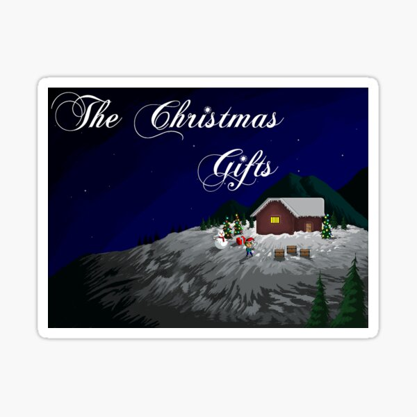 The Christmas Gifts Game Sticker