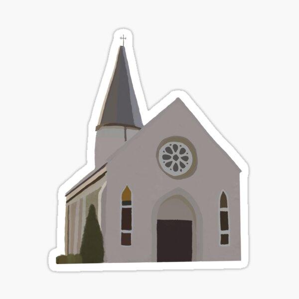 IWU Prayer Chapel Sticker
