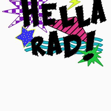 Hella Rad! by radiatedrabbit