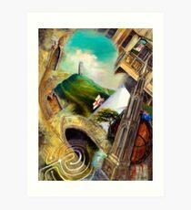 Glastonbury Impressions Art Print