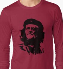 Che Corbyn - Jeremy Corbyn and Che Guevara political mash-up tshirt | Labour party leader Long Sleeve T-Shirt