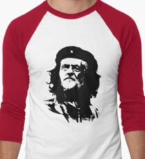Che Corbyn - Jeremy Corbyn and Che Guevara political mash-up tshirt   Labour party leader Men's Baseball ¾ T-Shirt
