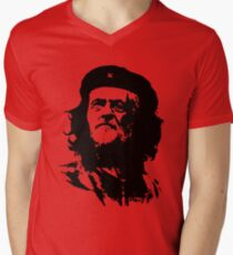 Che Corbyn - Jeremy Corbyn and Che Guevara political mash-up tshirt | Labour party leader Men's V-Neck T-Shirt
