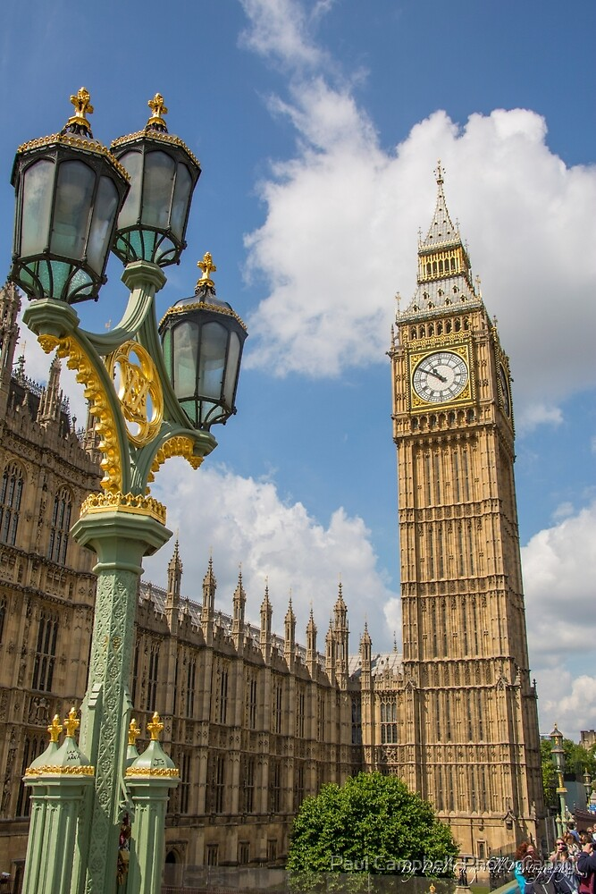 Big Ben - London by Paul Campbell  Photography