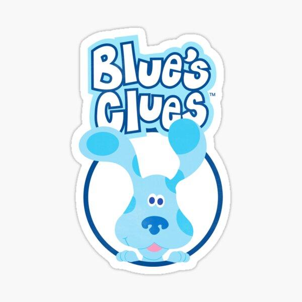Regalo de Blues Clues para hombres y mujeres, día de Halloween, día de Acción de Gracias, día de Navidad Pegatina