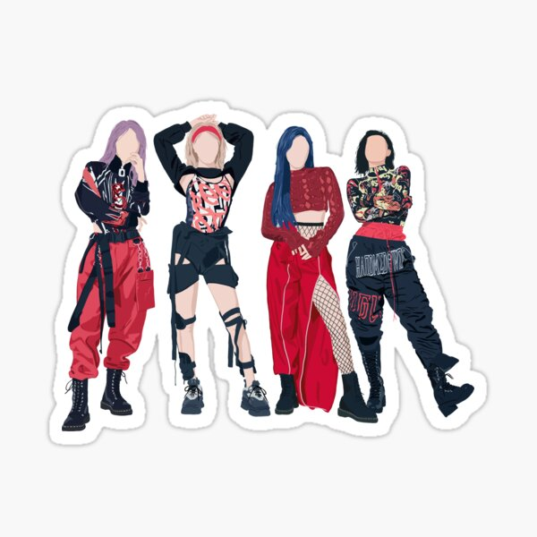 MAMAMOO - HIP Sticker