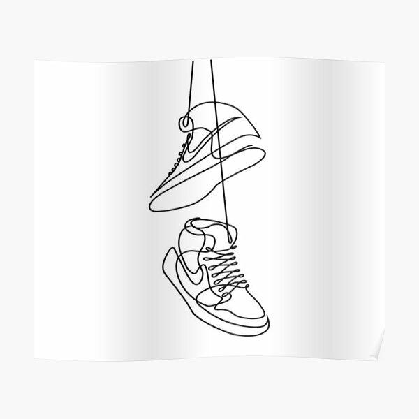 Zapatillas Póster