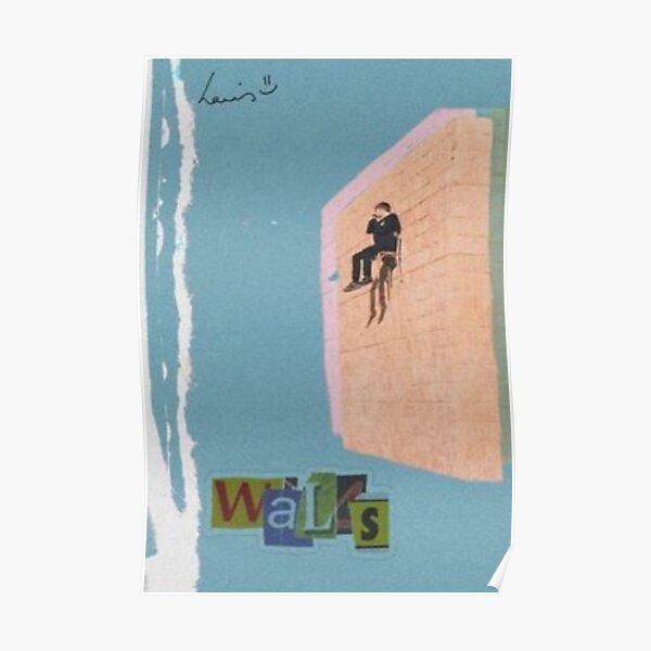 Louis Tomlinson Walls Poster