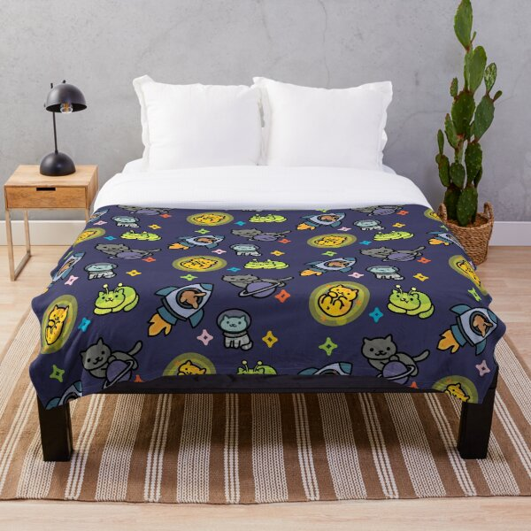 Neko Atsume Throw Blanket