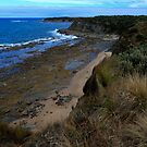 Headland view 2 -  Cape Lip trap  Victoria by john  Lenagan