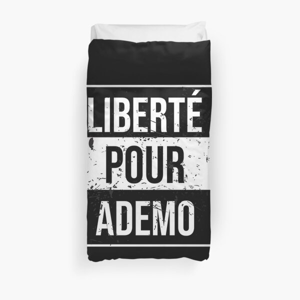 Liberté Pour Ademo, Free Ademo, Pnl Qlf Housse de couette