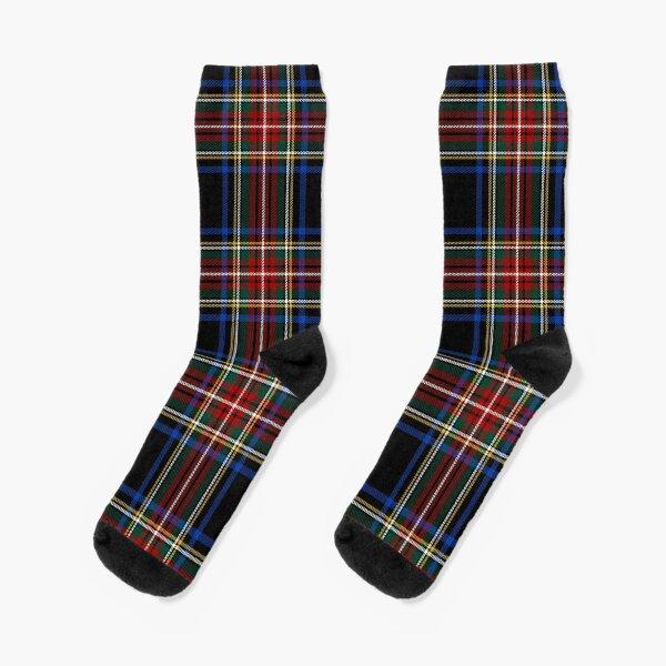 Stewart Black Tartan   Clan Stuart   Cute Tartan Socks