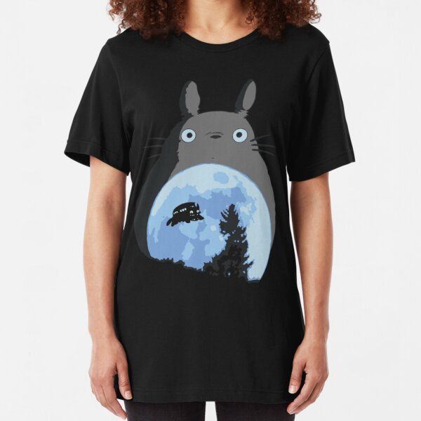 Totoro the Extra-Terrestrial Slim Fit T-Shirt