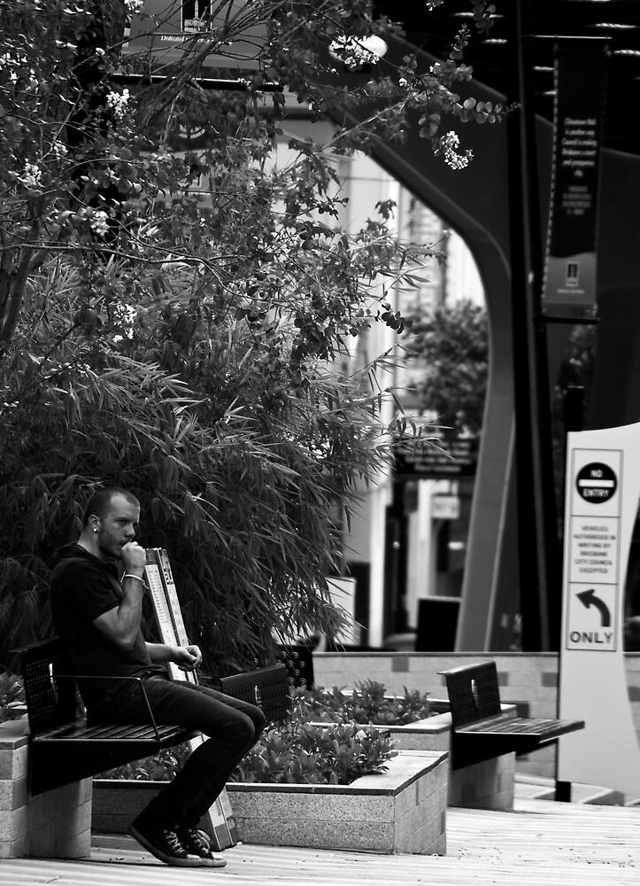 Just Sittin. by Jordan Miscamble
