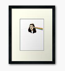 Dark side of the Rainbow Framed Print