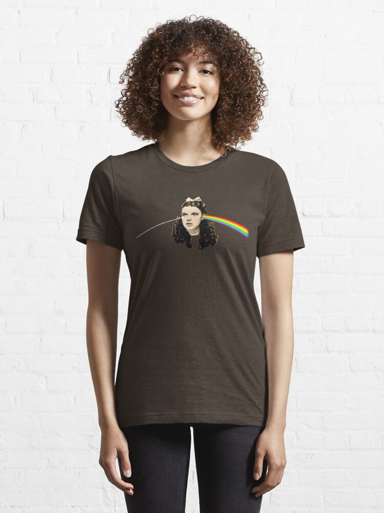 Alternate view of Dark side of the Rainbow Essential T-Shirt