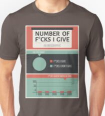 Number of F*cks I Give T-Shirt