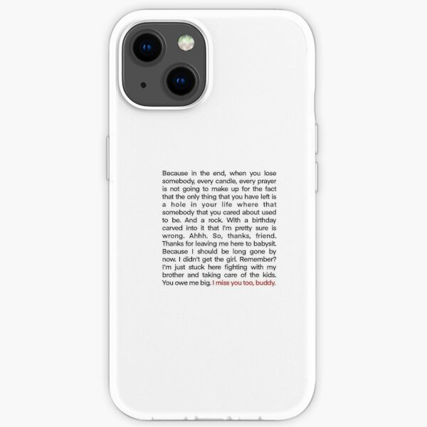 Discours de Damon à Alaric Coque souple iPhone