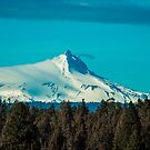 Mt. Jefferson Throwing off His Covers by Richard Bozarth