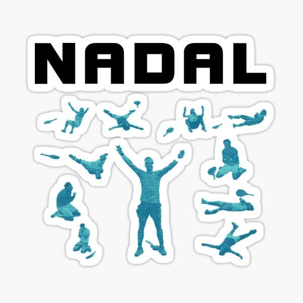 Rafael Nadal - Celebraciones Pegatina