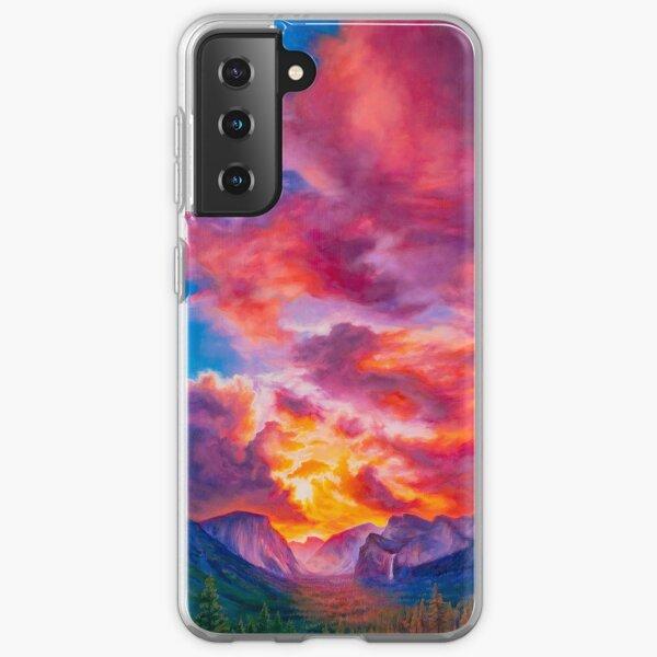 Inspiration Point, Yosemite National Park Samsung Galaxy Soft Case